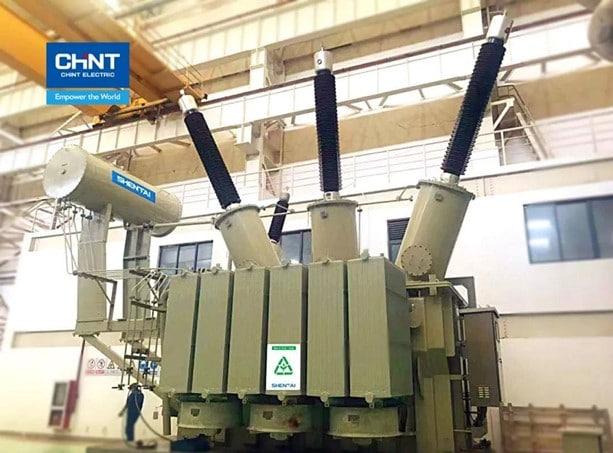chint's 220kv vegetables oil transformer