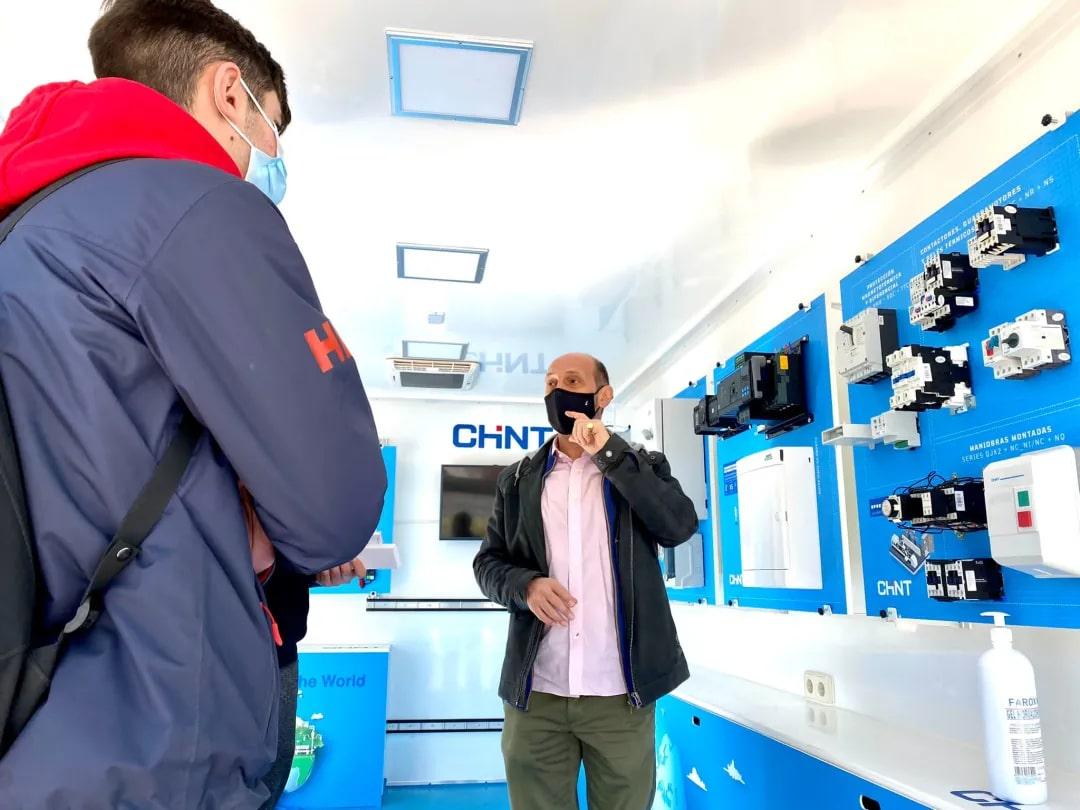 CHINT demo van