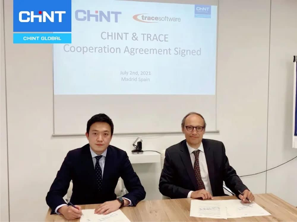 CHINT and Trace Signed a Strategic Cooperation Agreement