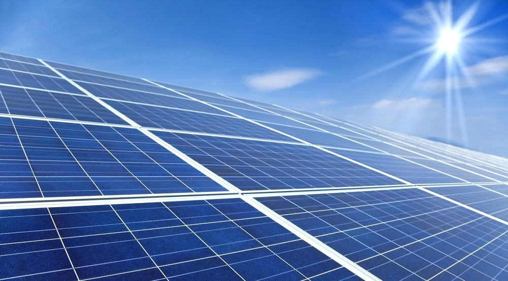 Solar Power Plant Banner